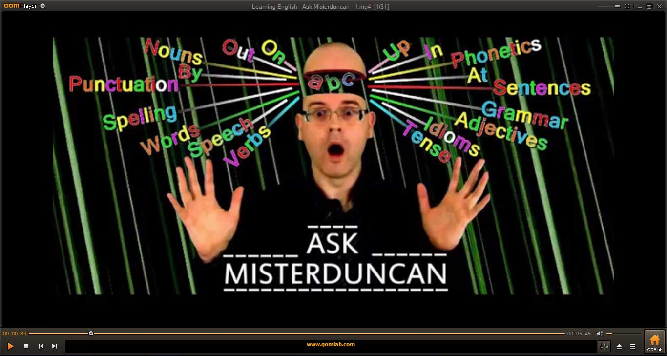 Ask-Misterduncan-Learning-English