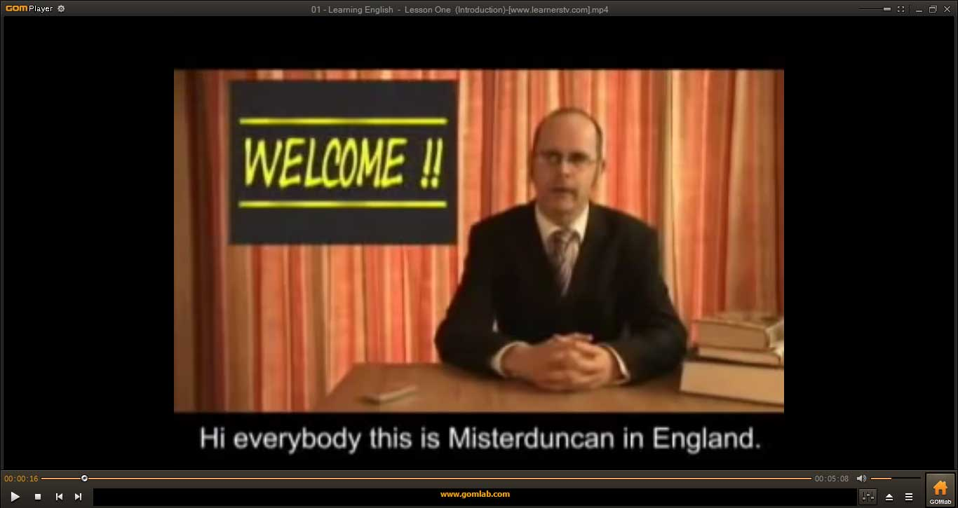 Learning-English-With-Misterduncan